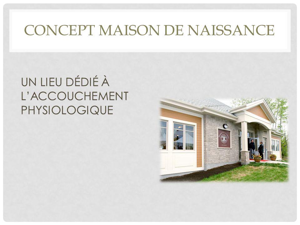 Concept Maison de Naissance