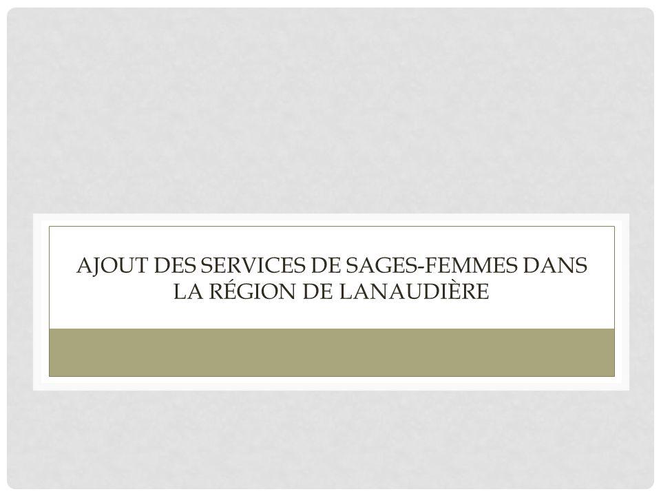 Ajout des services de sages-femmes dans la région de Lanaudière