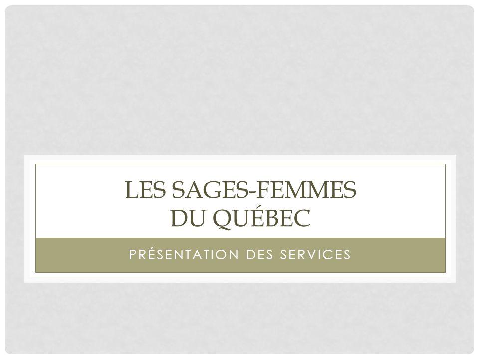 Les sages-femmes du Québec