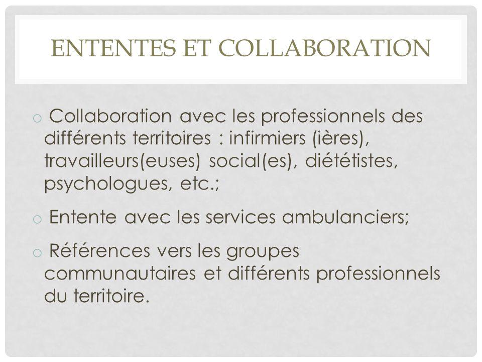 Ententes et Collaboration