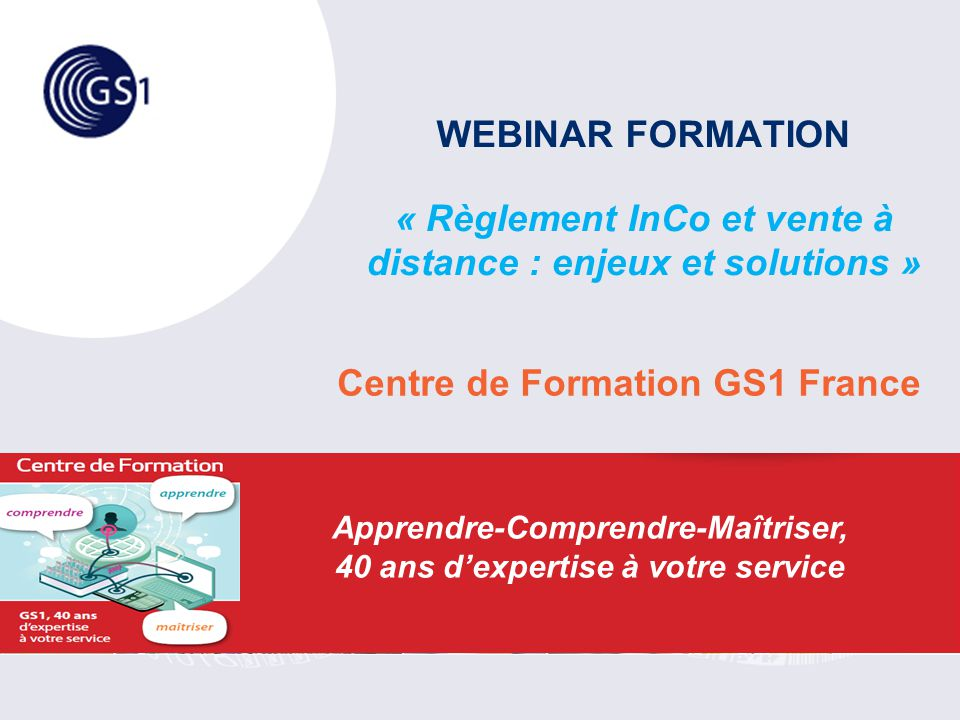 Centre de Formation GS1 France