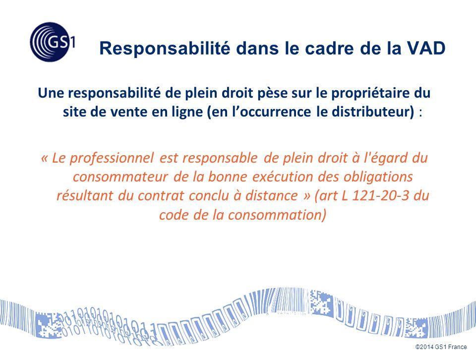 Responsabilité dans le cadre de la VAD
