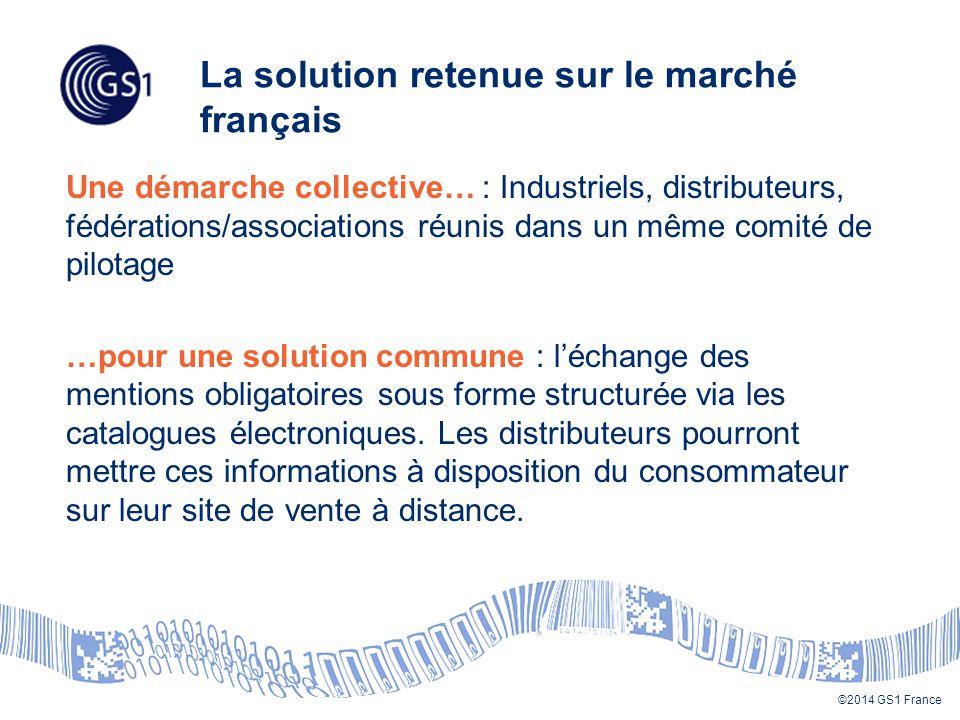 La solution retenue sur le marché français