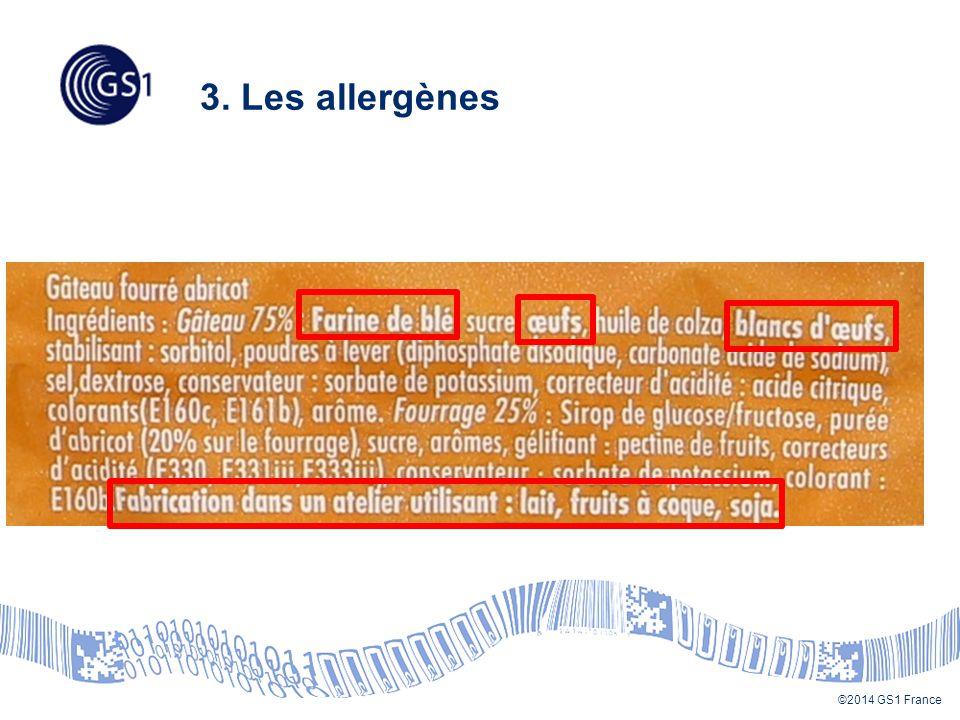 3. Les allergènes