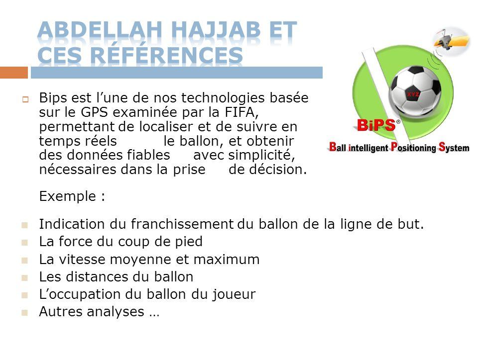 Abdellah HaJjaB et ces références