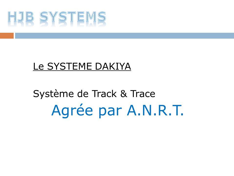 Agrée par A.N.R.T. HJB SYSTEMS Le SYSTEME DAKIYA