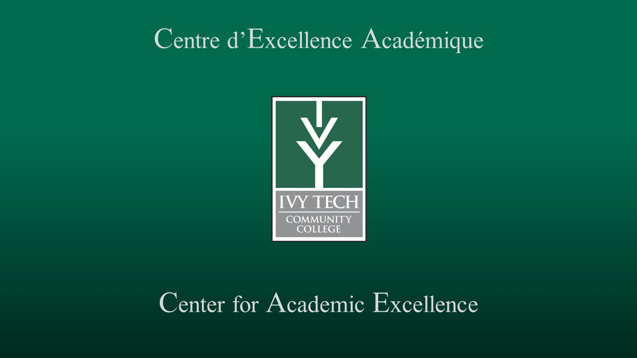 Centre d'Excellence Académique