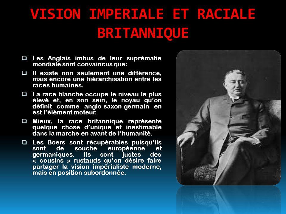 VISION IMPERIALE ET RACIALE BRITANNIQUE