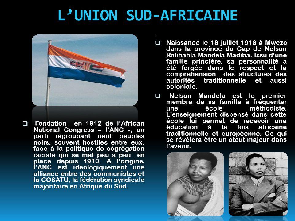L'UNION SUD-AFRICAINE