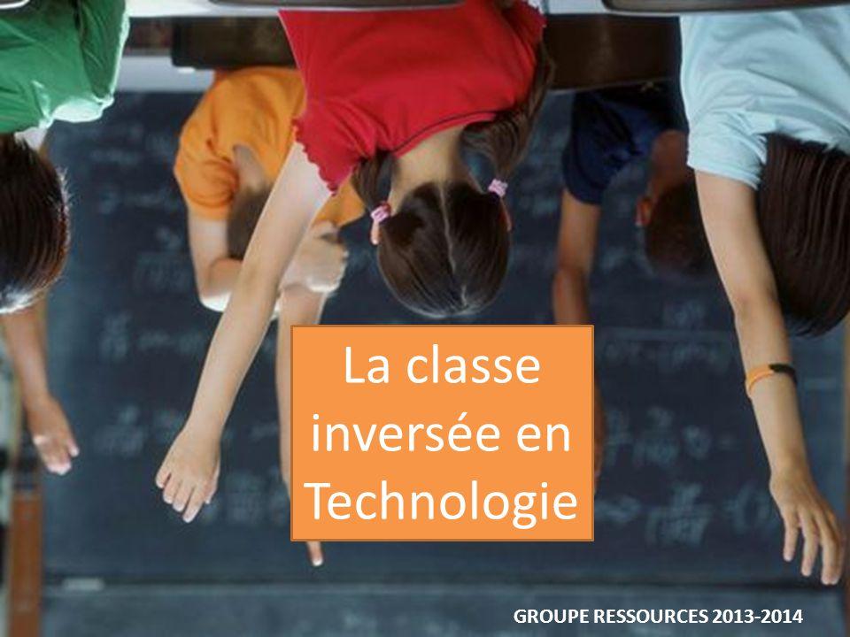 La classe inversée en Technologie