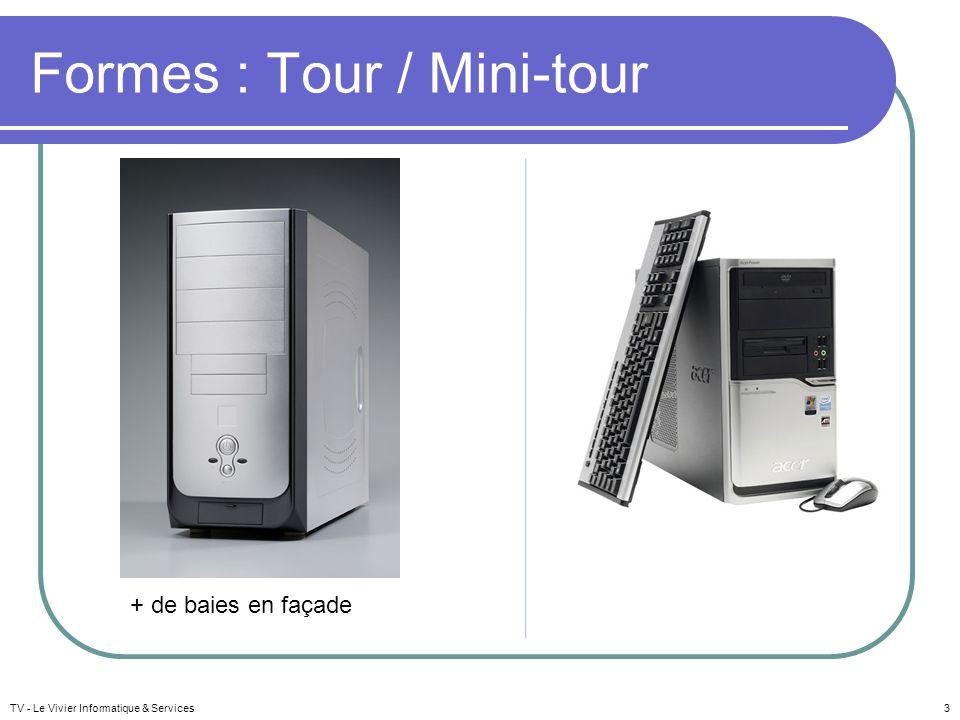 Formes : Tour / Mini-tour
