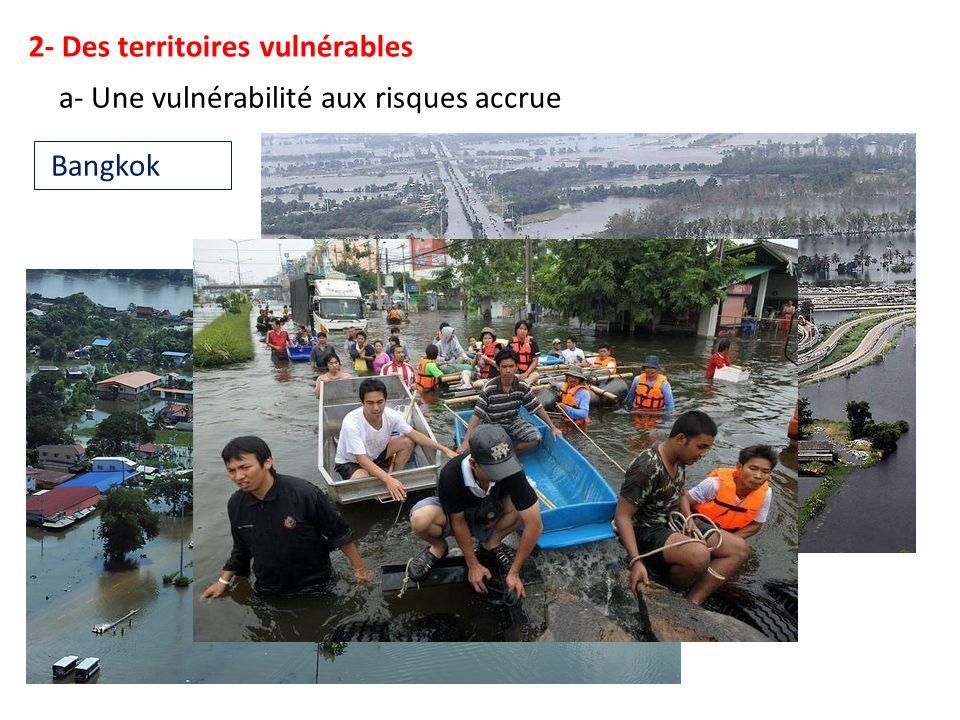 2- Des territoires vulnérables