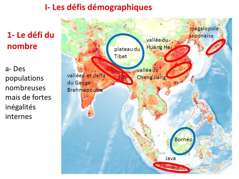 I- Les défis démographiques