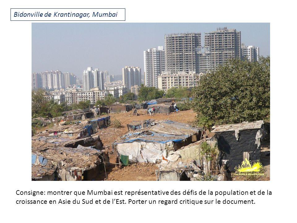 Bidonville de Krantinagar, Mumbai