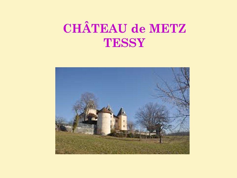 CHÂTEAU de METZ TESSY