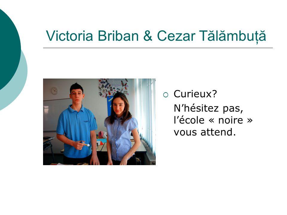 Victoria Briban & Cezar Tălămbuţă