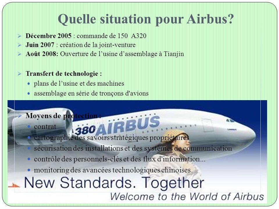 Quelle situation pour Airbus