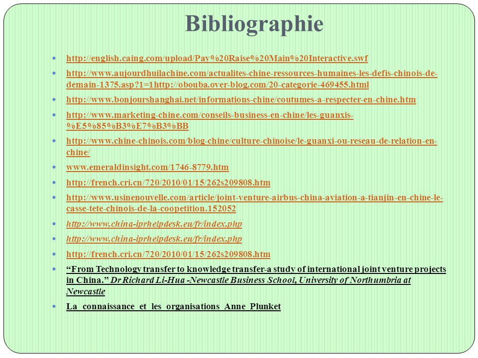 Bibliographie http://english.caing.com/upload/Pay%20Raise%20Main%20Interactive.swf.