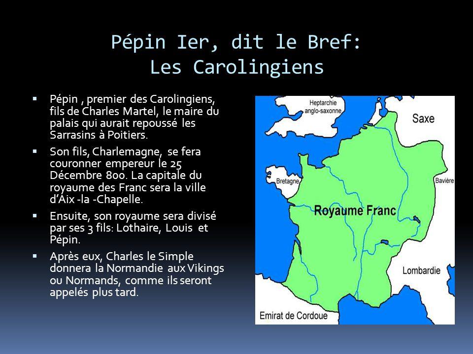 Pépin Ier, dit le Bref: Les Carolingiens