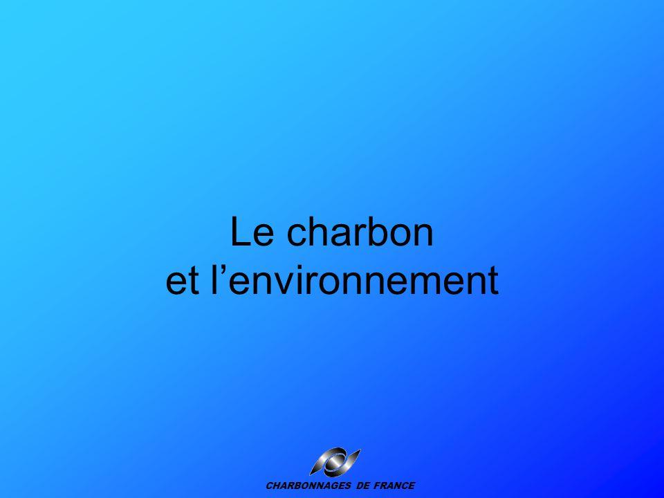 Le charbon et l'environnement