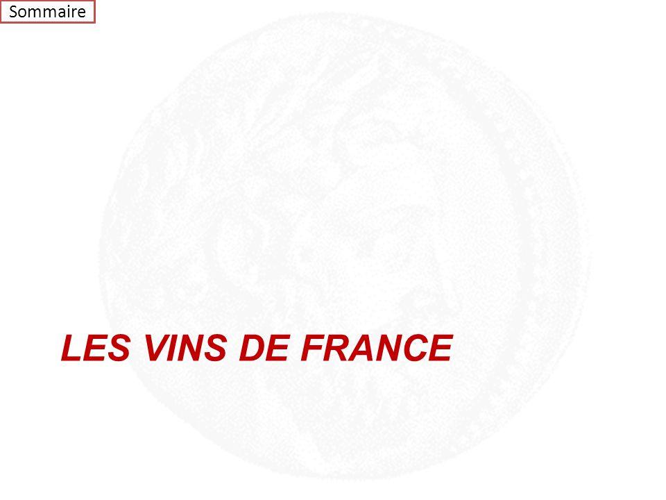 Sommaire LES VINS DE FRANCE