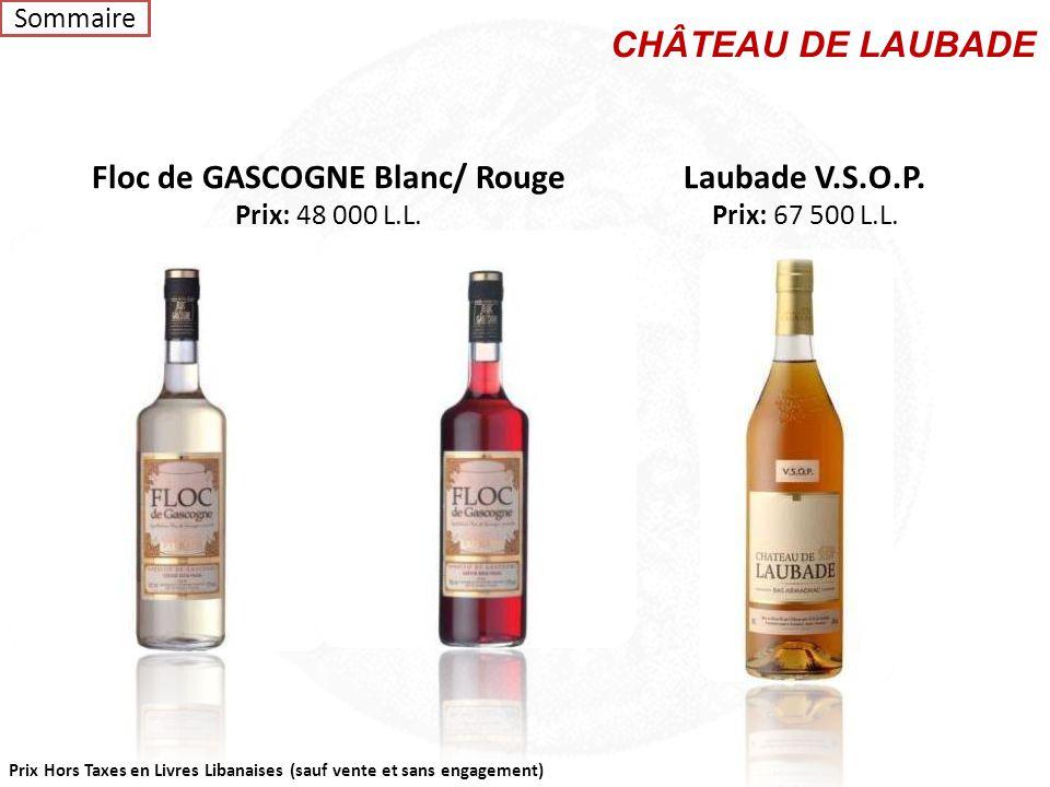 Floc de GASCOGNE Blanc/ Rouge