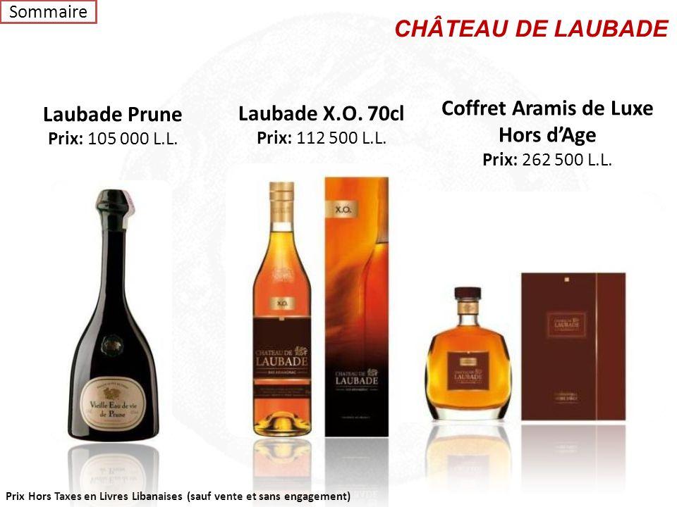 CHÂTEAU DE LAUBADE Coffret Aramis de Luxe Laubade Prune
