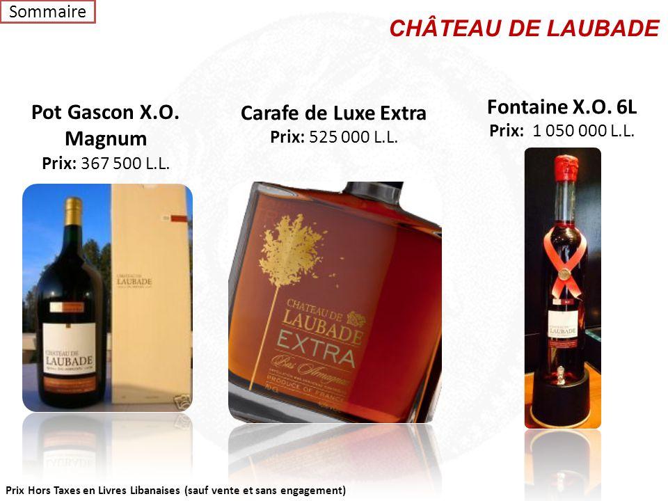 CHÂTEAU DE LAUBADE Fontaine X.O. 6L Pot Gascon X.O. Magnum