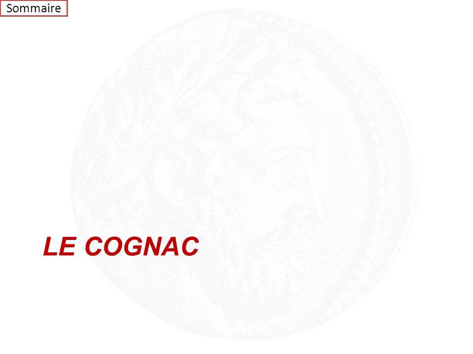 Sommaire LE COGNAC