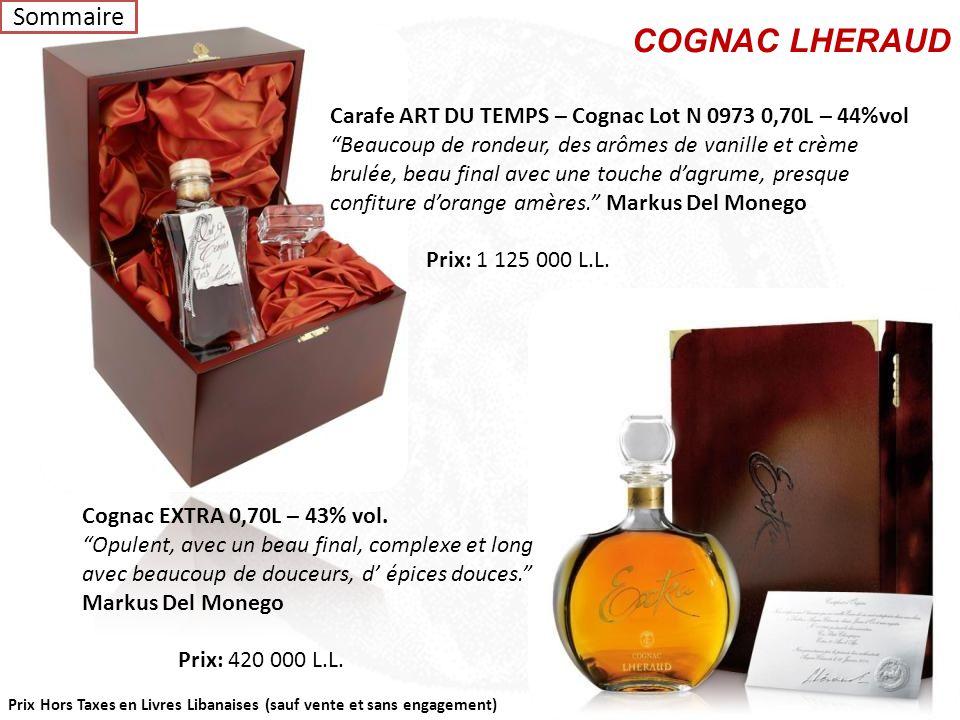 COGNAC LHERAUD Sommaire