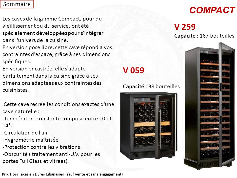 Sommaire COMPACT.