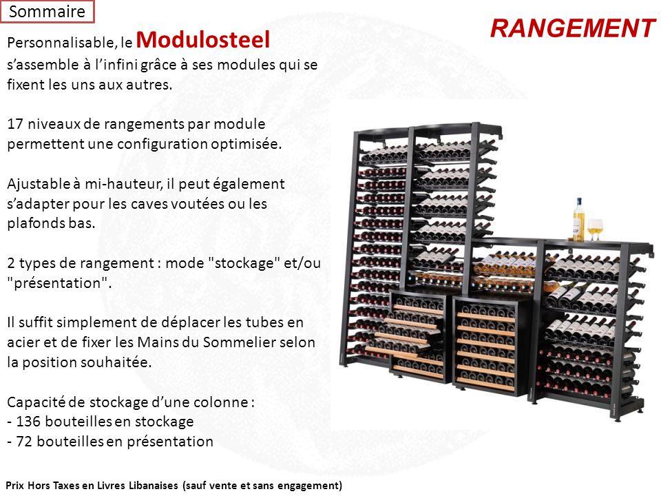 Personnalisable, le Modulosteel s'assemble à l'infini grâce à ses modules qui se fixent les uns aux autres.