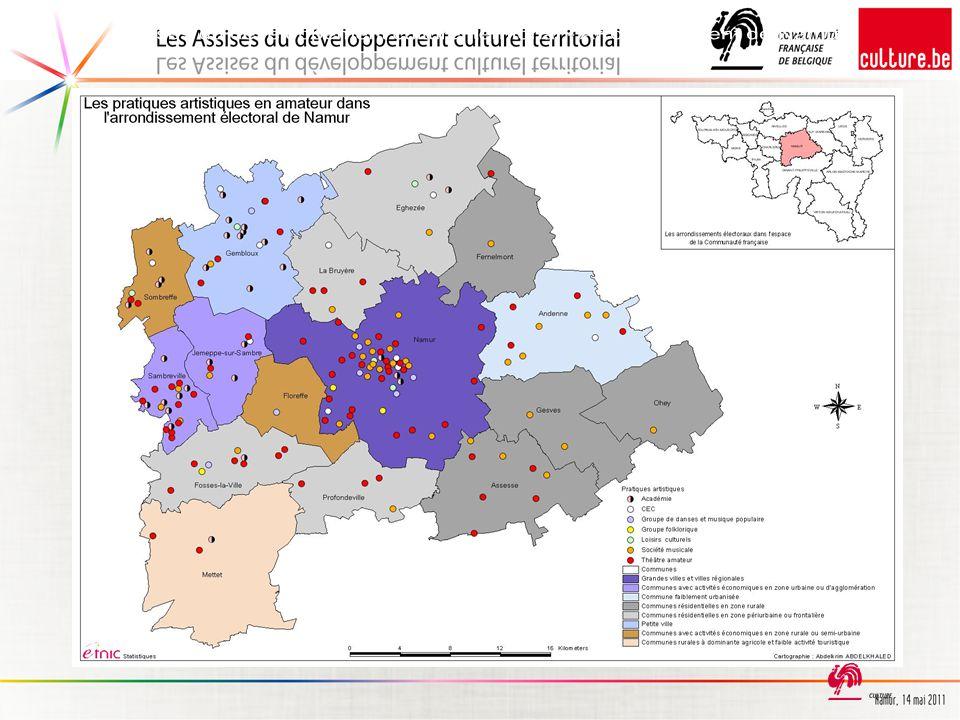 Assises du développement culturel territorial - Arrondissement de Namur