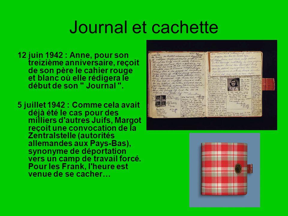 Journal et cachette