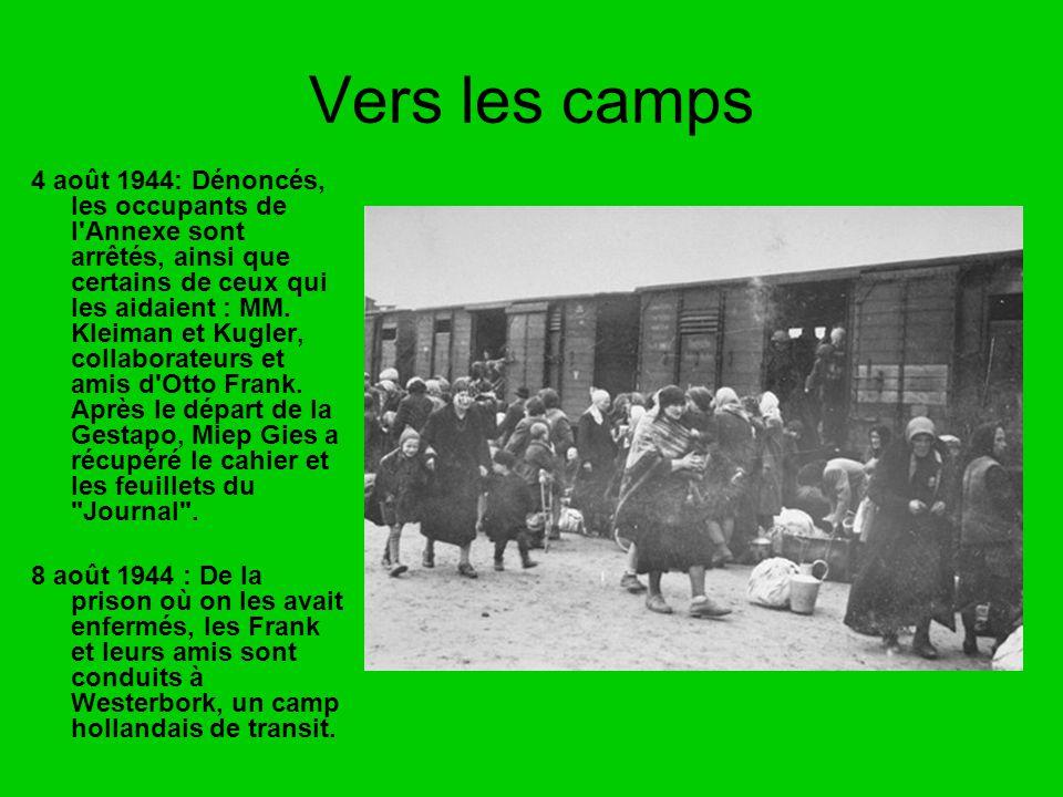 Vers les camps