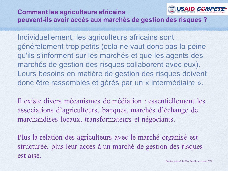 Comment les agriculteurs africains