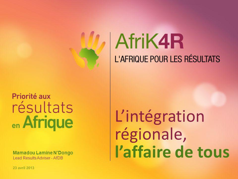 L'intégration régionale, l'affaire de tous