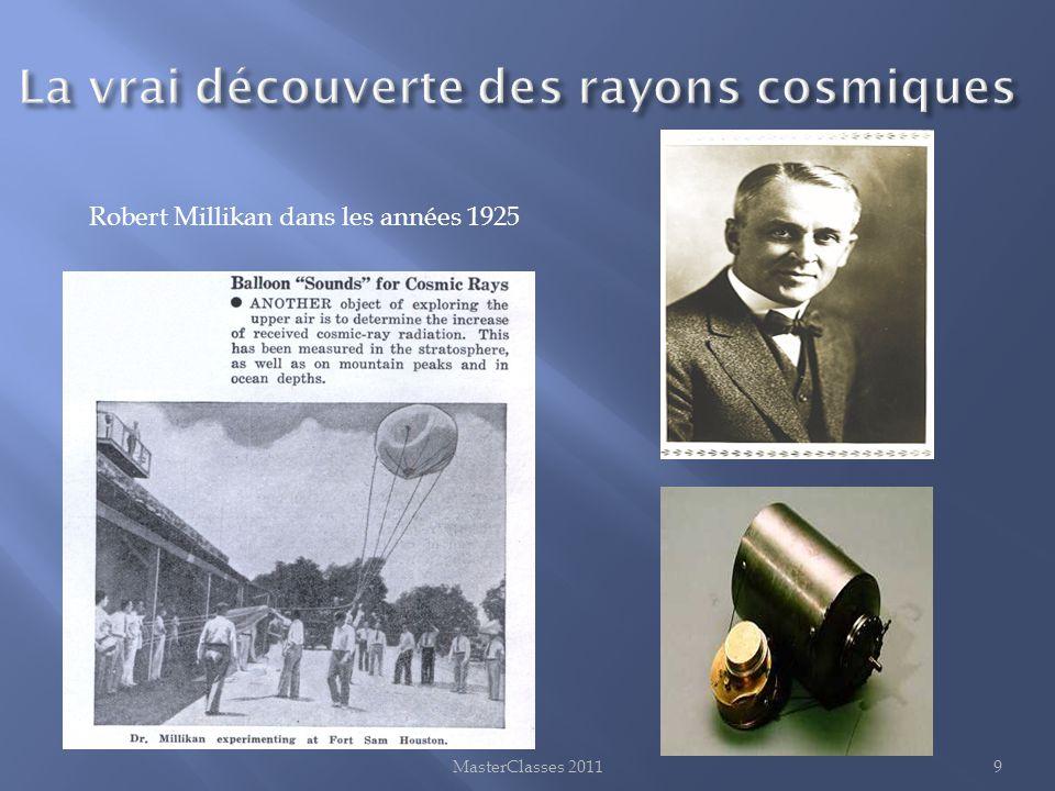 La vrai découverte des rayons cosmiques