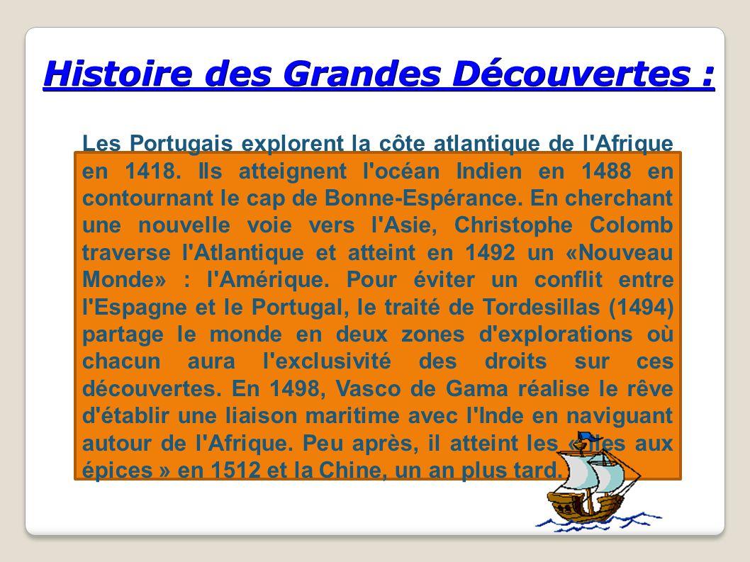 Histoire des Grandes Découvertes :