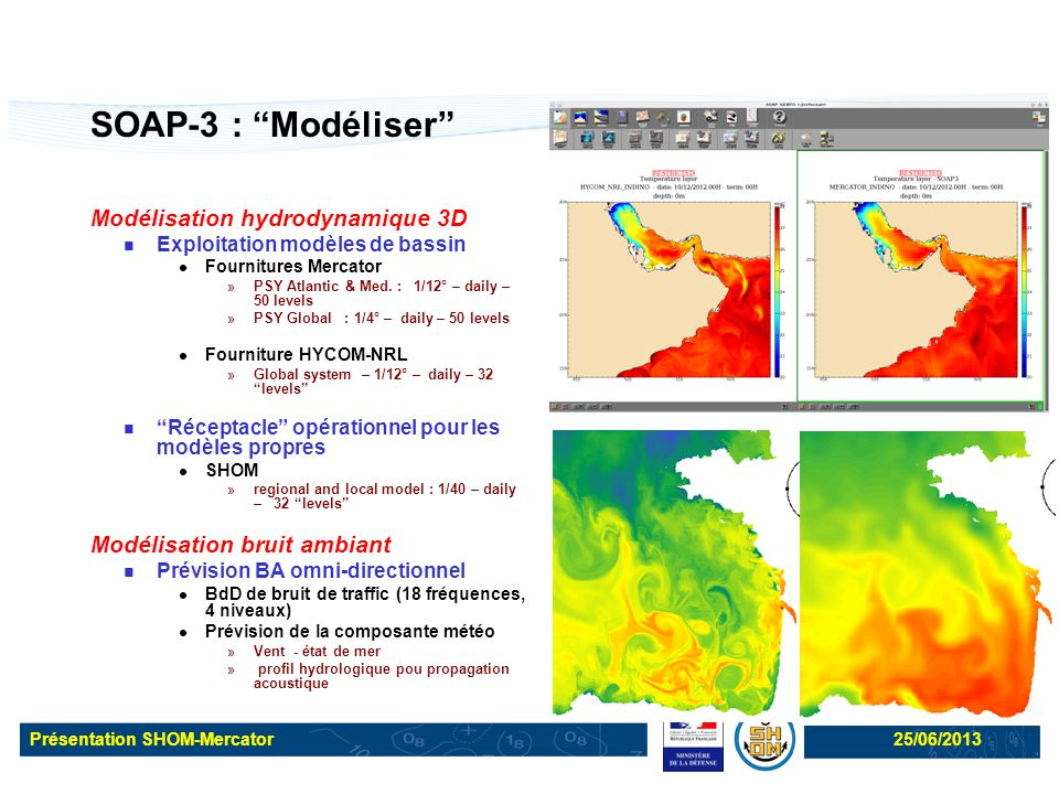 SOAP-3 : Modéliser Modélisation hydrodynamique 3D