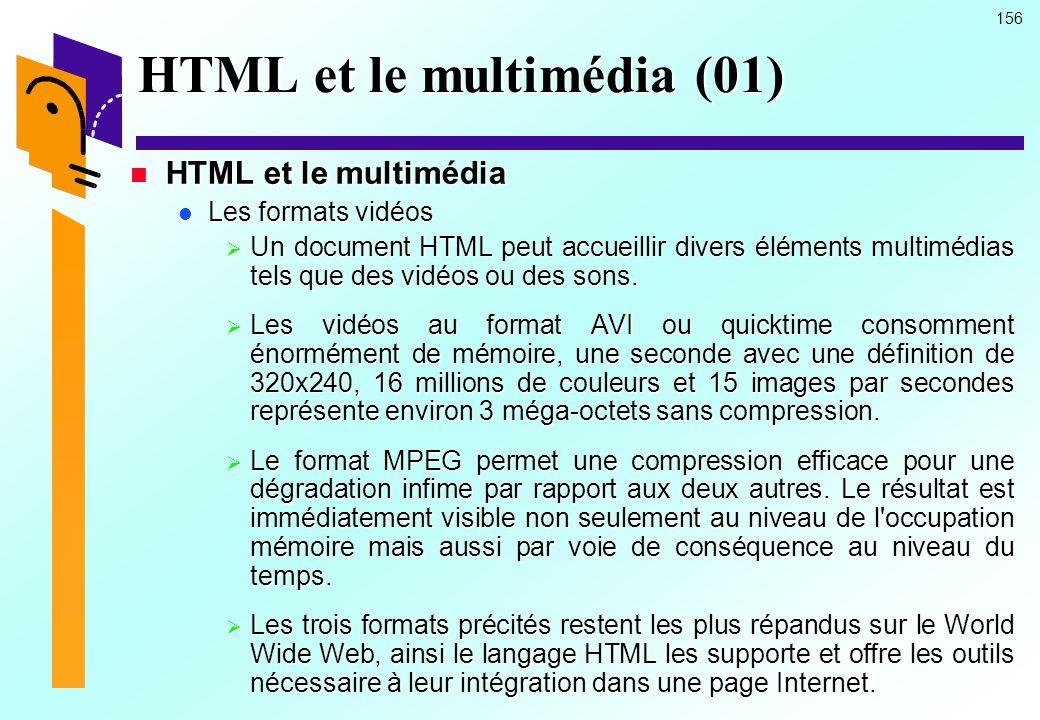 HTML et le multimédia (01)