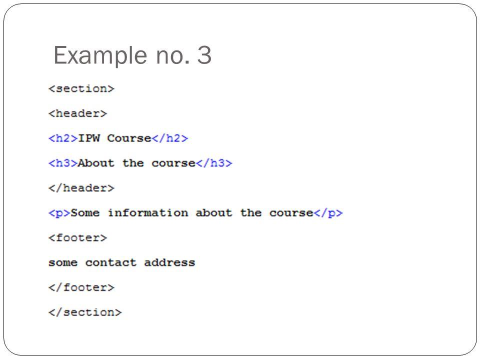 Example no. 3