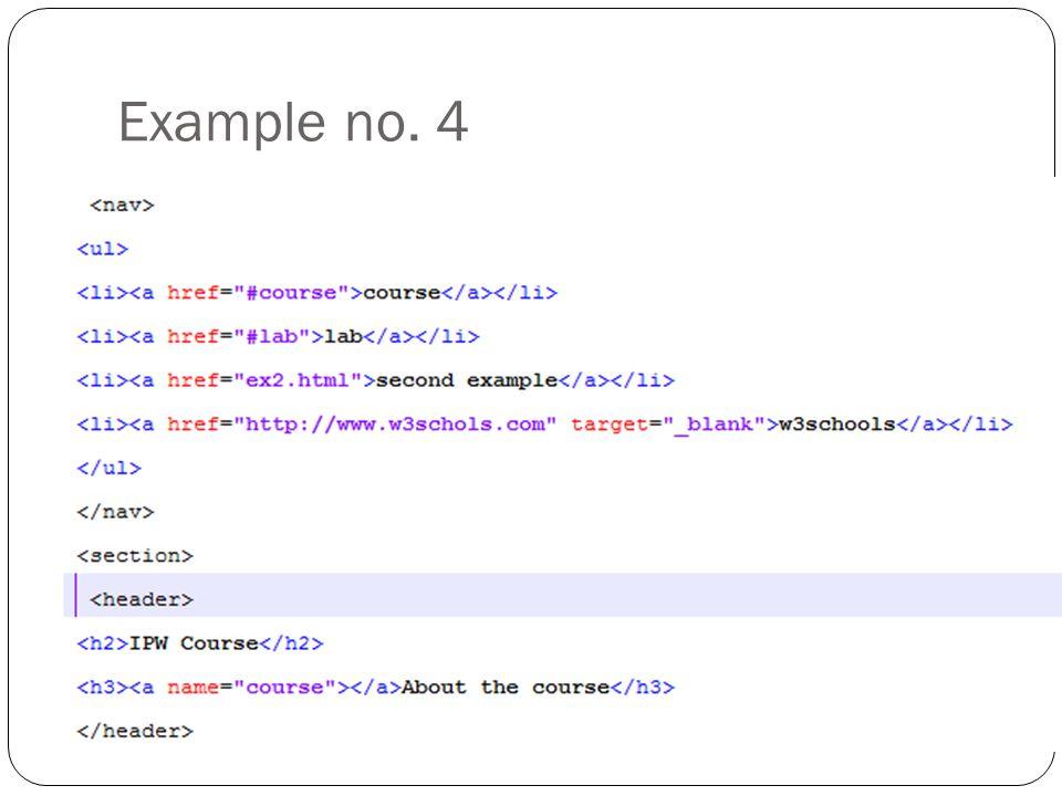 Example no. 4