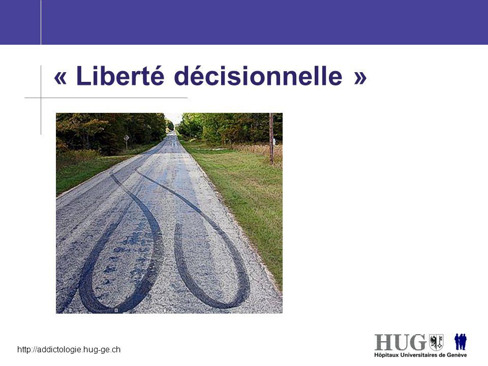 « Liberté décisionnelle »
