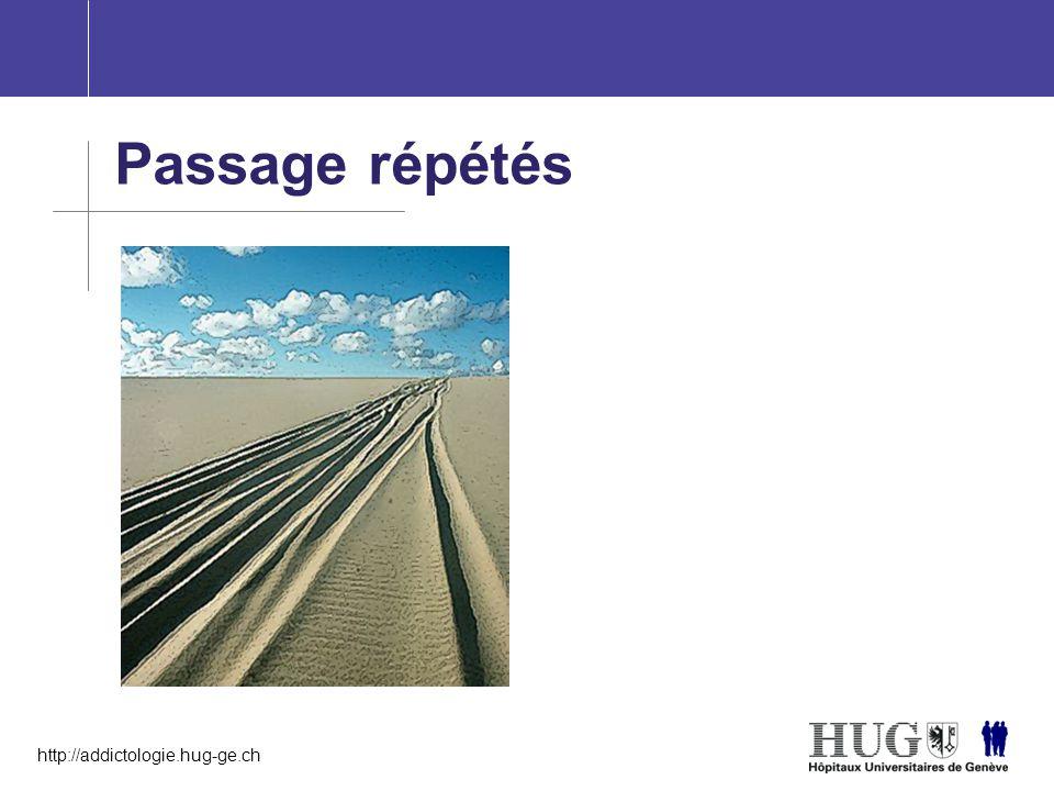 Passage répétés