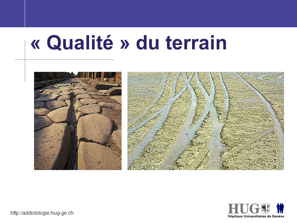 « Qualité » du terrain