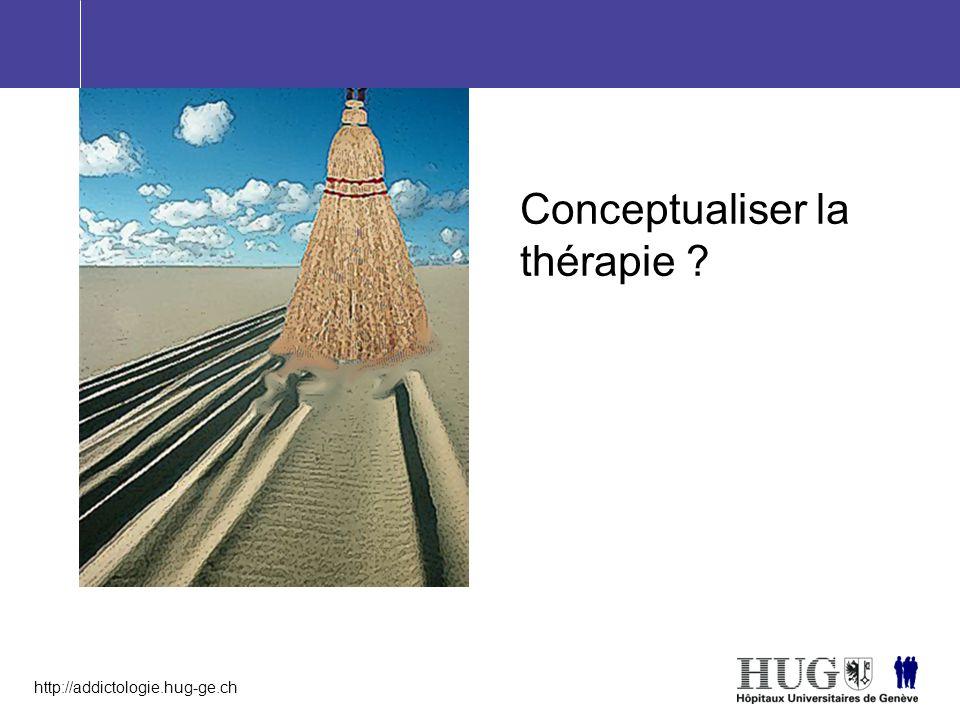 Conceptualiser la thérapie