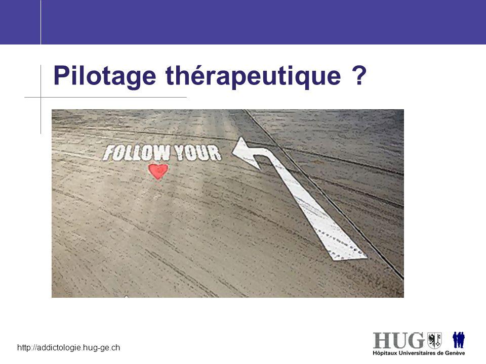 Pilotage thérapeutique