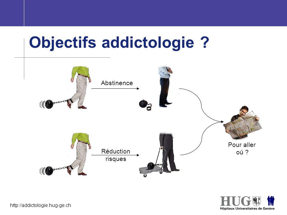 Objectifs addictologie