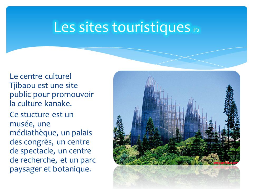 Les sites touristiques P2